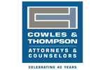 Cowles & Thompson